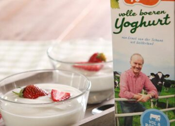 Volle Yoghurt wint in AD test