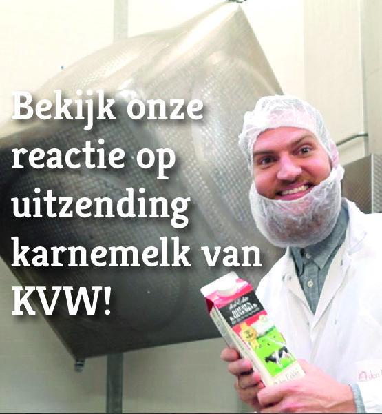 Onze reactie op de uitzending van KVW over karnemelk
