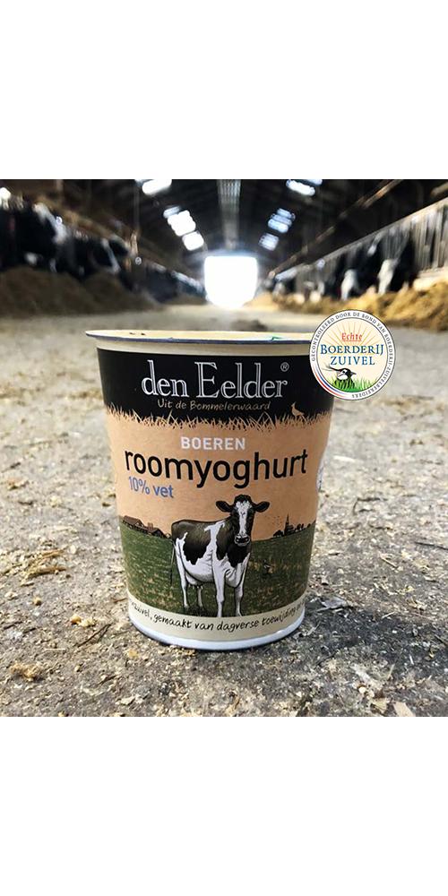 Boeren roomyoghurt in een nieuw jasje!