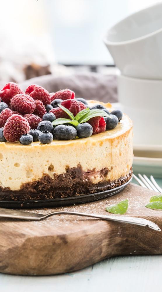Vanilleyoghurt taart